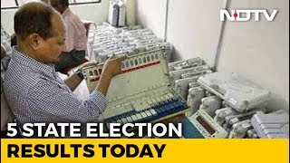 5 State Election Results Today In Semi-Final Before 2019 - NDTV