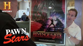 "Pawn Stars: Recalled ""Star Wars: 'Revenge' of the Jedi"" Poster 