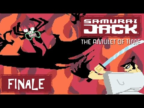 Samurai Jack: The Amulet of Time (GBA) Part 19 FINALE - VS Aku | Too Much Gaming