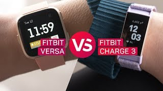 Fitbit Charge 3 vs. Fitbit Versa - CNETTV