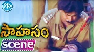 Sahasam Movie Scenes - Nassar Kills Jagapati Babu - Bhanu Chandar    Kaveri - IDREAMMOVIES