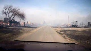 قتلى وجرحى بسبب حرائق هائلة في جنوب سيبيريا