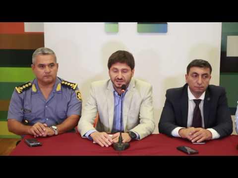 Conferencia por el ataque al vehículo de traslado del Servicio Penitenciario