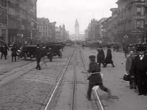 Машина времени: Сан — Франциско, 1906 год. И год 2005