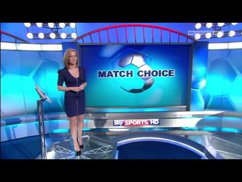 Sarah Jane Mee Football First 26/12/10