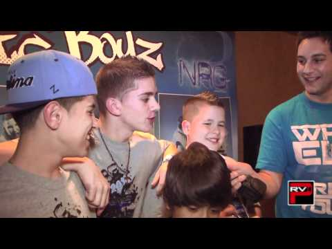 More Fan Questions for the Iconic Boyz Day 2 of NRG Dance Project Tour AZ