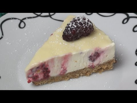 Raspberry & White Chocolate Cheesecake Recipe