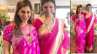 Upasana Konidela At Her Brother Anindith And Shriya bhupal Satyanarayana Vratham Photos - RAJSHRITELUGU