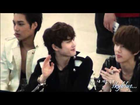 [FANCAM]120525 Fansign - Suho, Kai, Sehun