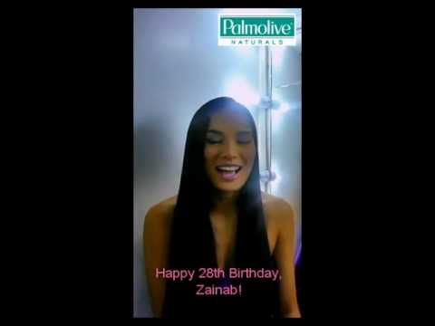 Surprise Birthday Greeting for Zainab from Isabelle Diaz Daza!