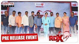 RDX Love Pre Release Event || Paayal Rajput, Tejus Kancherla, C Kalyan || Haappy Movies - ADITYAMUSIC