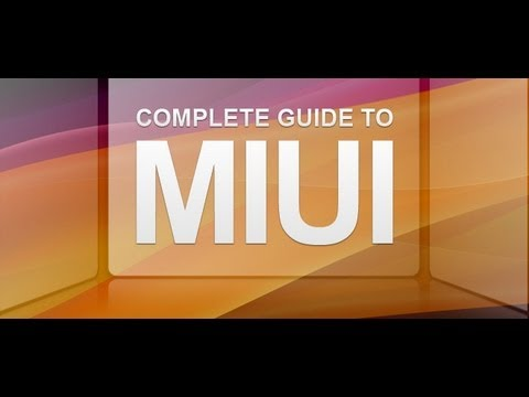 Miui Rom - Best Custom operating system on Android at its finest - Must try =]