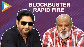 BLOCKBUSTER- Arshad Warsi & Saurabh Shukla's ENTERTAINING Rapid Fire on Salman Khan and Akshay Kumar - HUNGAMA
