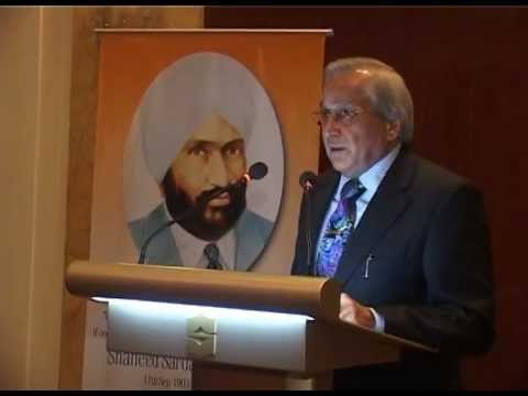 The Shaheed Nanak Singh Foundation Hosts Dinner at the Shangri-La's Hotel, New Delhi, India.