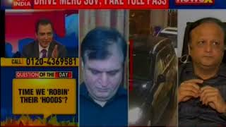 Mercedes driver uses fake VVIP pass to avoid toll; booked for forgery: Speak Out India - NEWSXLIVE