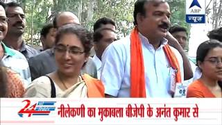 Nilekani casts his vote, confident of victory - ABPNEWSTV