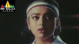 Aaro Pranam Movie Soundarya Vineeth Playing Tennis | Sri Balaji Video - SRIBALAJIMOVIES