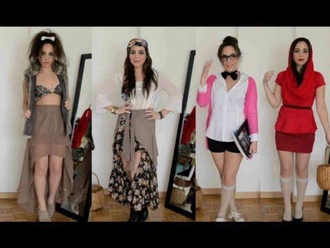 4 Disfraces con ropa de tu closet