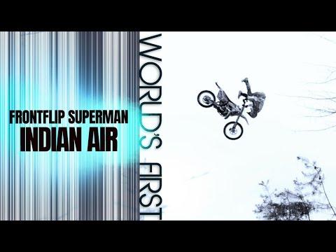 Travis Pastrana: World's First Frontflip Superman Indian Air