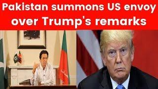 Pakistan summons US envoy over Trump's remarks on bin laden - NEWSXLIVE