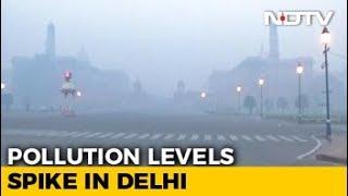 Delhi's Cracker Ban Stutters But Pollution Levels Lower On Diwali - NDTV
