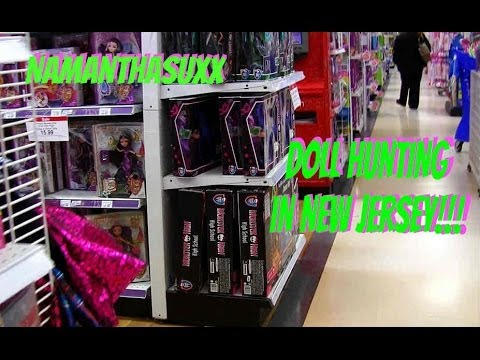 MONSTER HIGH DOLL HUNTING/SHOPPING IN NEW JERSEY PART 1 VIDEO!!