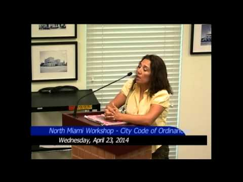 NoMi Public Workshop: Chapter 5, City Code Ordinances - April 23, 2014