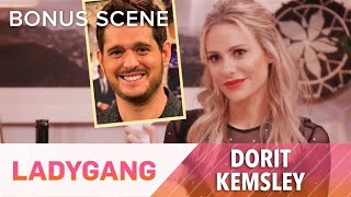 Dorit Kemsley Is All About Michael Buble! | LadyGang | E! - EENTERTAINMENT