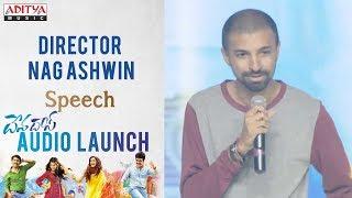 Director Nag Ashwin Speech @ Devadas Audio Launch || Akkineni Nagarjuna, Nani - ADITYAMUSIC
