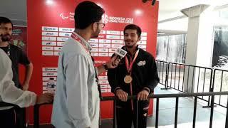 Para Asian Games: Tarun Dhillon clinches Gold medal in Badminton - ITVNEWSINDIA