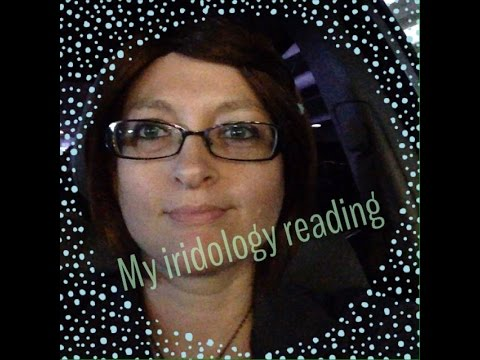 Ep:465 Victoria RawVegan does my iridology.