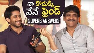 Nagarjuna & Naga Chaitanya Superb Answers | Rarandoi Veduka Chuddam Team Interaction With Media - TFPC