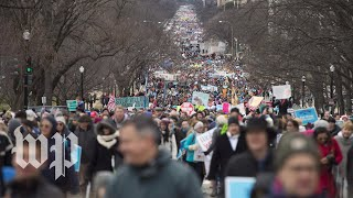 Antiabortion activists gather for the March for Life - WASHINGTONPOST