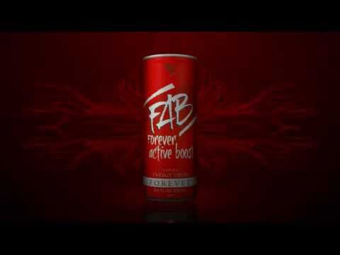 FAB Forever Active Boost FLP RO ADX7 Energizant Natural Energy Drink Aloe Vera Fitness Wellness