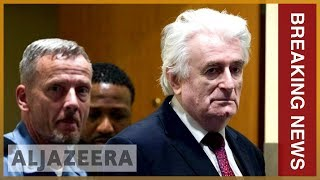 🇷🇸 Karadzic sentence increased to life for Bosnia genocide: UN | Al Jazeera English - ALJAZEERAENGLISH