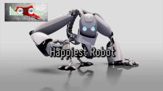 Royalty Free Happiest Robot:Happiest Robot