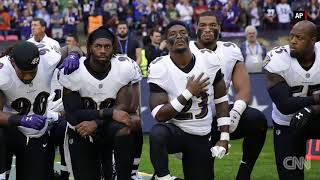 Ravens, Jaguars players kneel during national anthem - CNN