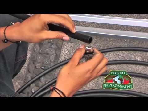 ¿Cómo instalar el Sistema de Riego para Forraje Verde Hidropónico?