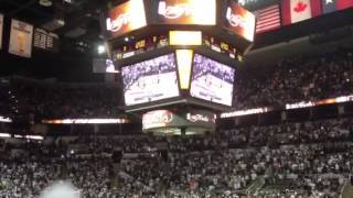 Arena Of Spurs Fans Reacting To Ray Allen's Game 6 3-Pointer