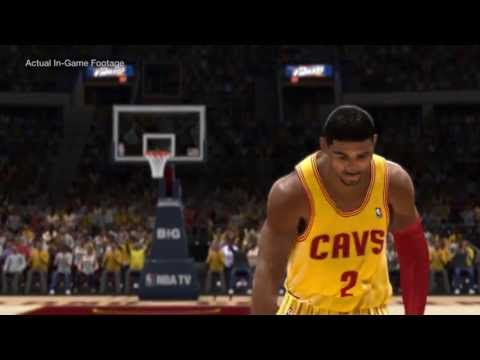 Kyrie Irving In NBA LIVE 14 Cover Video