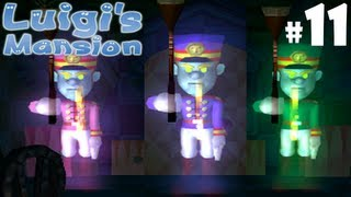 Luigi S Mansion Gamecube Blue Rooms