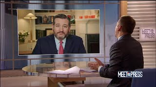 Full Ted Cruz Interview: 'Premature' to subpoena Trump-Russia notes | Meet The Press | NBC News - NBCNEWS