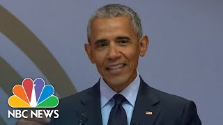 Former President Barack Obama: 'The Denial Of Facts Runs Counter To Democracy' | NBC News - NBCNEWS