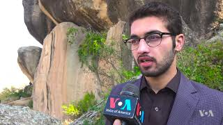 Italian Archeologists Restore Damaged Buddha Statue in Pakistan - VOAVIDEO