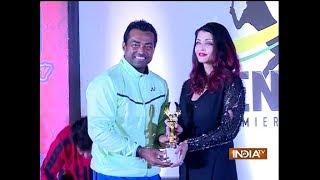 Aishwarya Rai Bachchan inaugurates India's first Tennis Premiere League - INDIATV