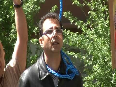 Live Hanging in front of the Iranian Embassy (Ottawa) Part 3