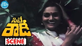 City Rowdy Movie Scenes - Rajasekhar Fighting With Bull || Madhavi || M Karnan || Sankar Ganesh - IDREAMMOVIES