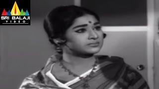 Jeevitha Chakram Movie Sharada and Vanisri Emotional Scene || NTR, Vanisri, Sharada - SRIBALAJIMOVIES