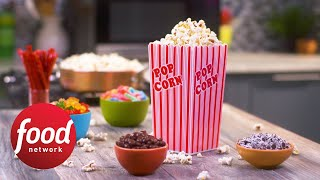 Theater-Style Buttered Popcorn - FOODNETWORKTV