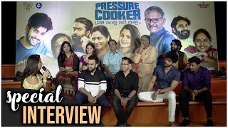 Pressure Cooker Movie Team Interview | Sai Ronak|Rahul Ramakrishna|Preethi Asrani |Rajai Rowan - TFPC